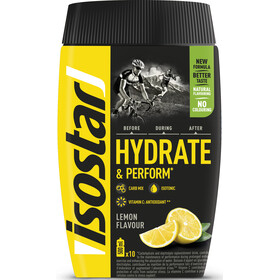 Isostar Hydrate & Perform Tub 400g, Lemon